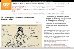 Screen capture of Nick Ripatrazone's essay at The Millions