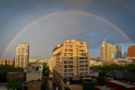 Rainbow over Brooklyn